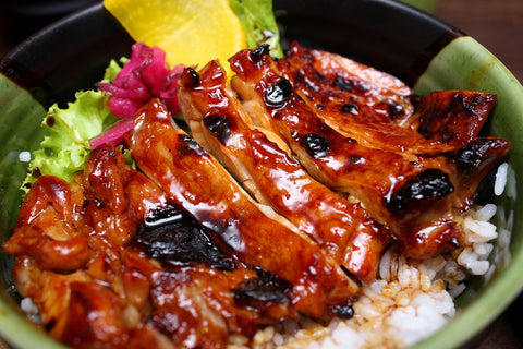 GRILLED TERIYAKI CHICKEN BOWL