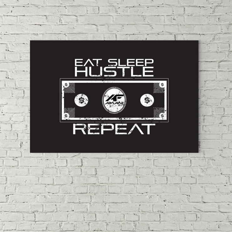 Eat Sleep Hustle Repeat - Shop Amani