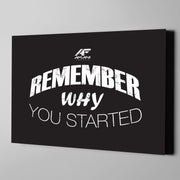 Remember Why You Started - Shop Amani