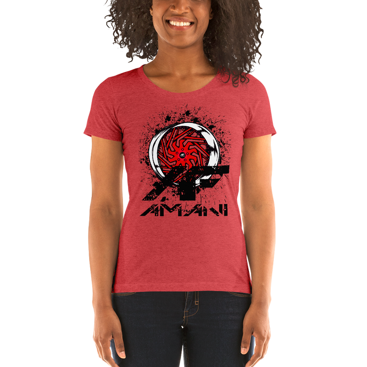 Ladies' short sleeve t-shirt - Shop Amani