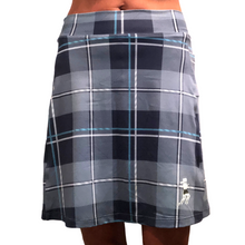 Blue Plaid Golf Skirt