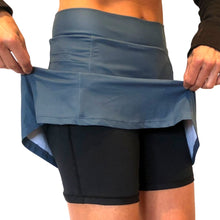 Pacific Blue Athletic Skirt