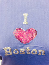 "I ""heart"" Boston Midnight Mesh Performance Tank"