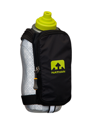 Nathan SpeedDraw Plus Insulated Black Handheld Hydration Carrrier