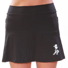 Black Athletic Skirt Front