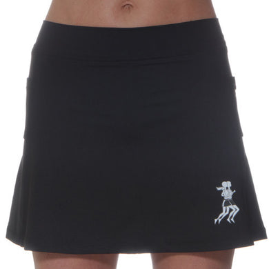 ultra athletic skirt black