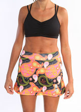 black paisley athletic skirt