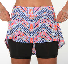 boheme below knee length compression shorts