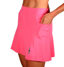 bubblegum pink triathlon skirt side pockets