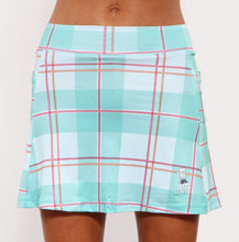 caribbean plaid athletic skirt