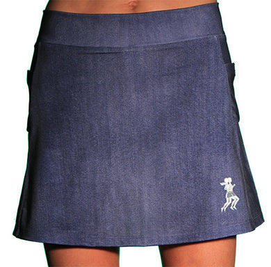 denim athletic skirt
