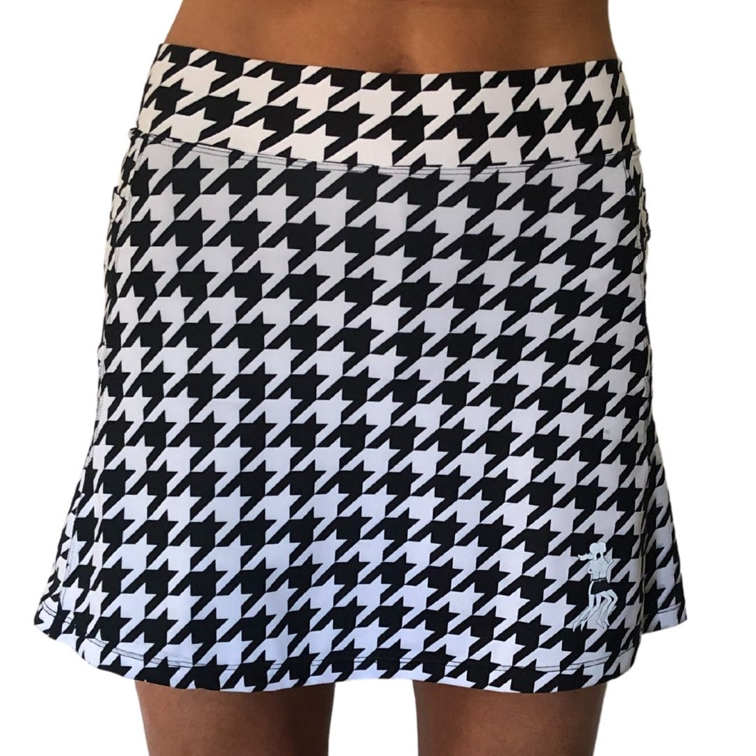 Houndstooth Athletic Skirt
