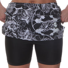 mums noir black compression shorts