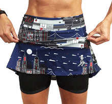 nyc athletic skirt compression shorts