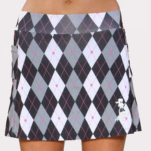 preppy black athletic skirt