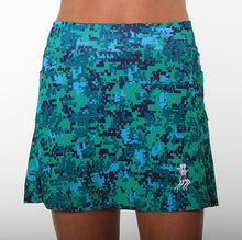 seacamp camo athletic skirt