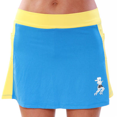 Surf Gold Athletic Skirt front