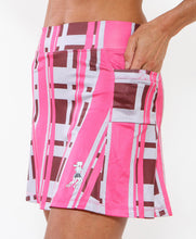 urban pink athletic skirt side pockets