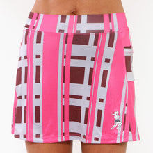 urban pink plaid athletic skirt