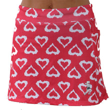 watermelon hearts athletic skirt size6