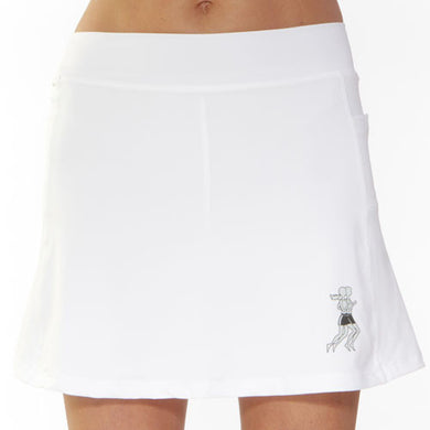 white athletic skirt