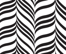 black candystripe swatch