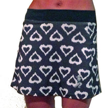 black hearts triathlon skirt