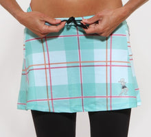Caribbean Plaid Capri Skirt