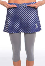 midnight stars capri skirt drawstring