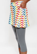 runbow capri skirt pockets