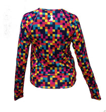 color block long sleeve back