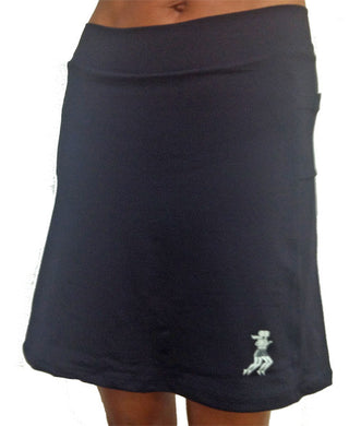 black golf skirt