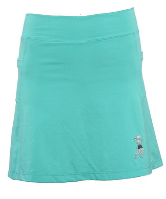 caribbean golf skirt