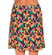 colorblock golf skirt back