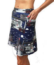 nyc golf skort side pockets