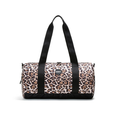 Iconic Cheetah Barrel Gym Bag