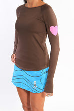 chocolate long sleeve