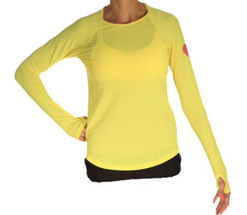 citron long sleeve running top