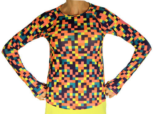 new colorblock long sleeve