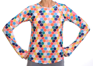 honeycomb performance longsleeve