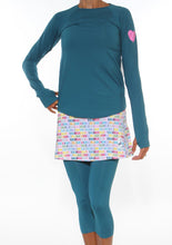 lagoon long sleeve distance capri