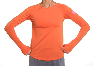 mandarin long sleeve top