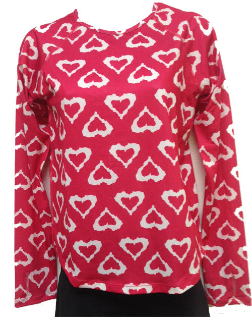 watermelon hearts runlove long sleeve