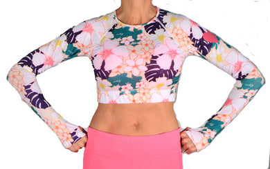 kona long sleeve crop
