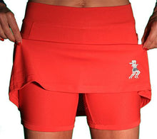 Red Ultra Mini Athletic Skirt (girls size 6-10)