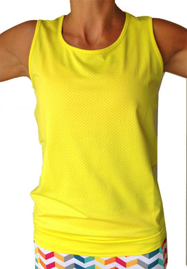 citron mesh performance tank