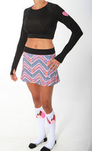 boheme running skirt black runlove crop