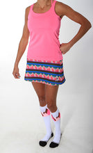 bubblegum racerback and summit skirt