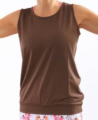 chocolate limitless performance tank