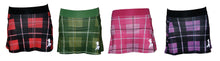 plaid running skirts